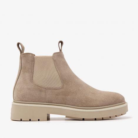 Alexis Zen beige chelsea boots