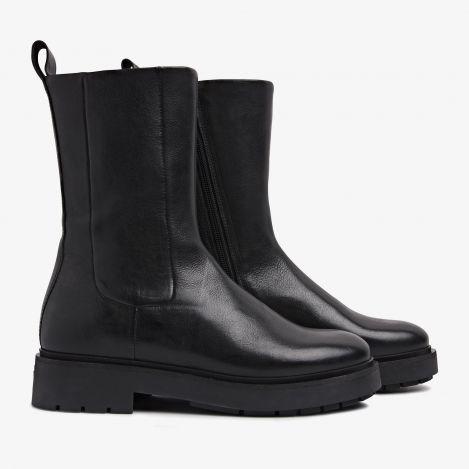 Alexis Ziva zwarte biker boots