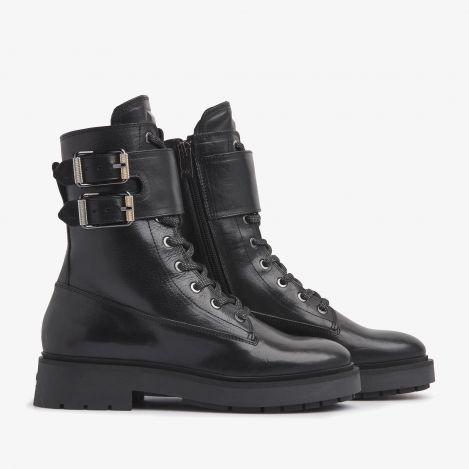 Alexis Zoey zwarte biker boots