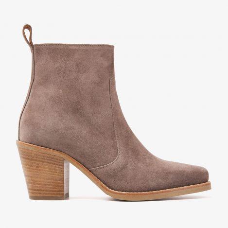 Anika Bizz grå ankelstøvler