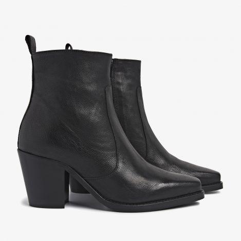 Anika Bizz sorte ankelstøvler