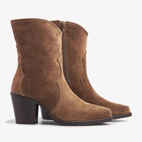 Anika Cliff brune ankelstøvler