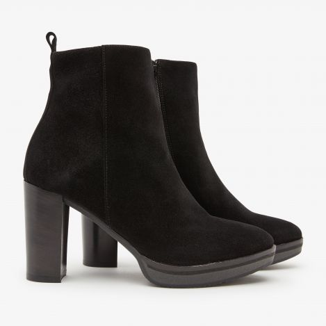 Cassatt Union sorte ankelstøvler