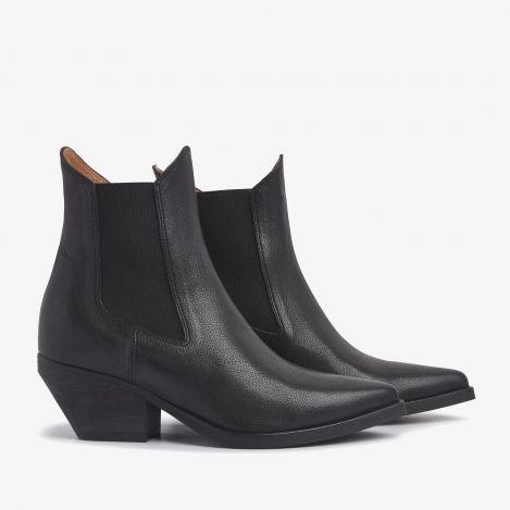 Jil Arc black ankle boots