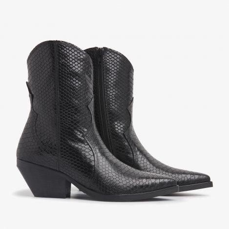 Jil Gaze black ankle boots