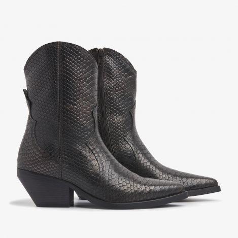 Jil Gaze bronze colored ankle boots