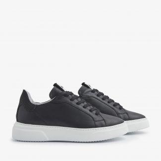 Juno Uni zwarte sneakers