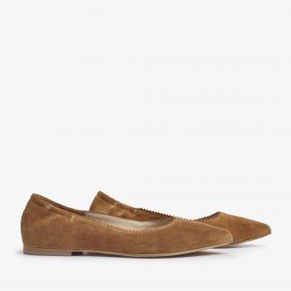 Jara Moss loafers cognac