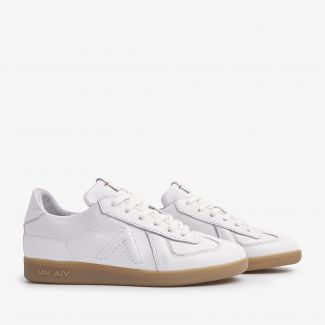Nilla Sleek witte sneakers