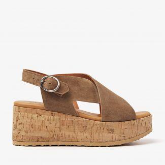 Sissel Raise bruine sandalen