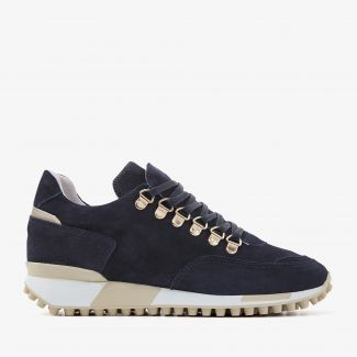 Giulia Bold blauwe sneakers