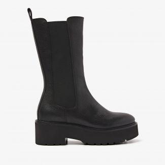 Bobbi Matt zwarte chelsea boots