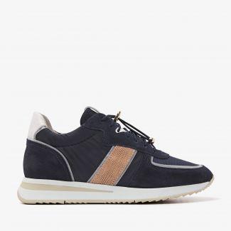 Nora Sue blauwe sneakers