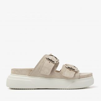 Maddison Dee beige slippers