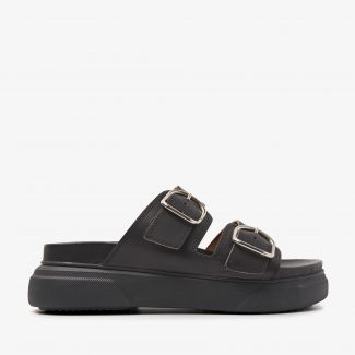 Maddison Dee zwarte slippers