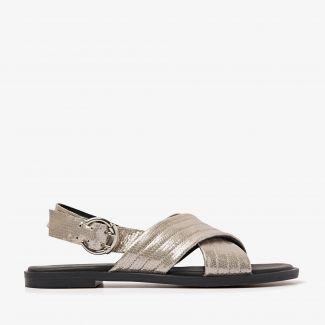 Harita Kate metallic sandalen