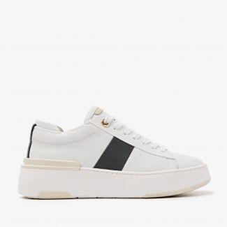 Jessy Stripe white sneakers