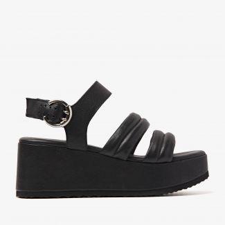 Sissel Flo zwarte sandalen