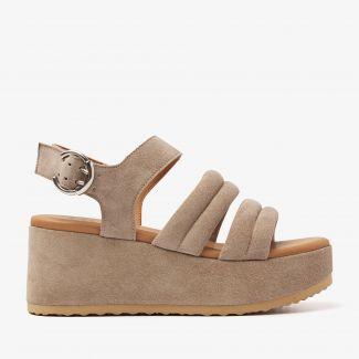 Sissel Flo beige sandalen
