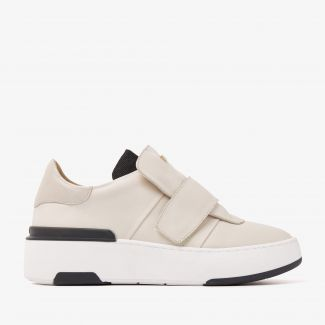 Jessy Leigh beige sneakers