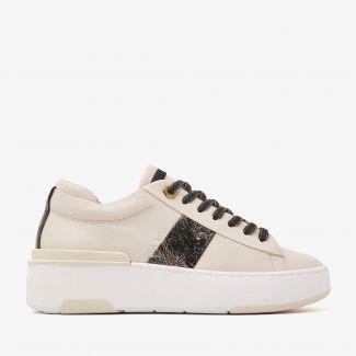 Jessy Stripe beige sneakers