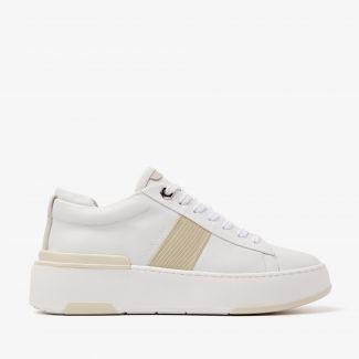 Jessy Stripe witte sneakers