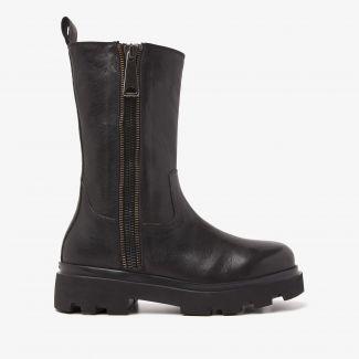 Livia Scott zwarte biker boots