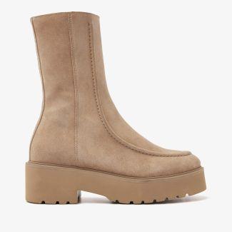 Bobbi Mint beige boots