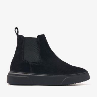 Juno Levy zwarte chelsea boots